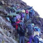 キリマンジャロ登山への道④ マチャメルート3日目・4日目